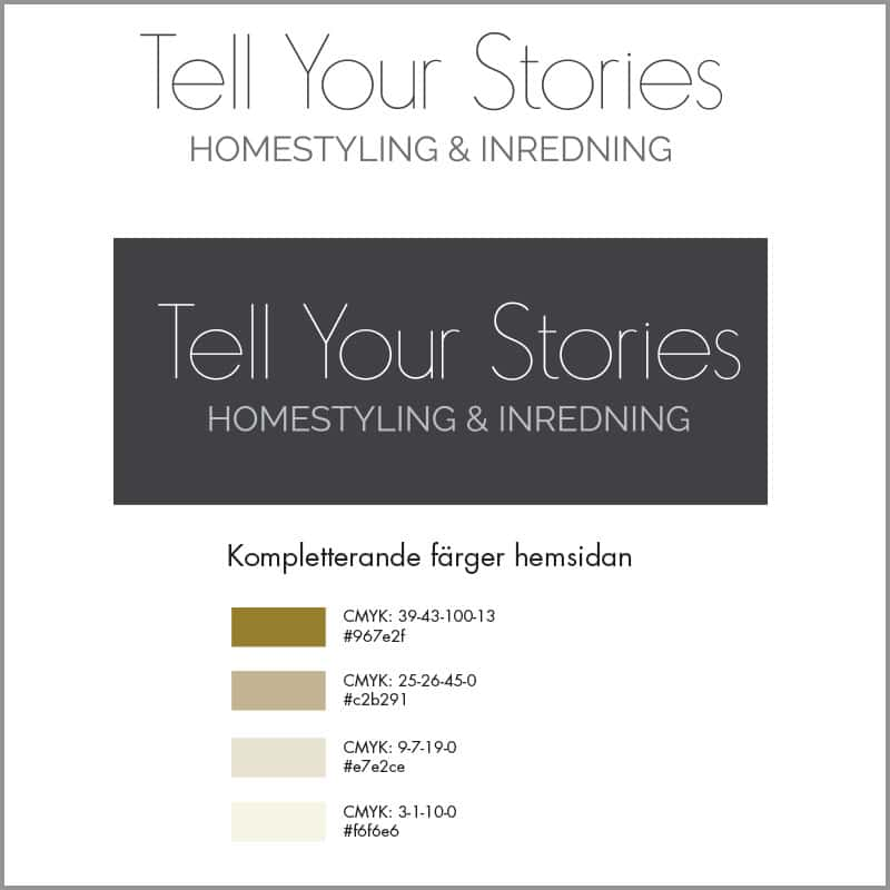 Tell Your Stories - Logotype