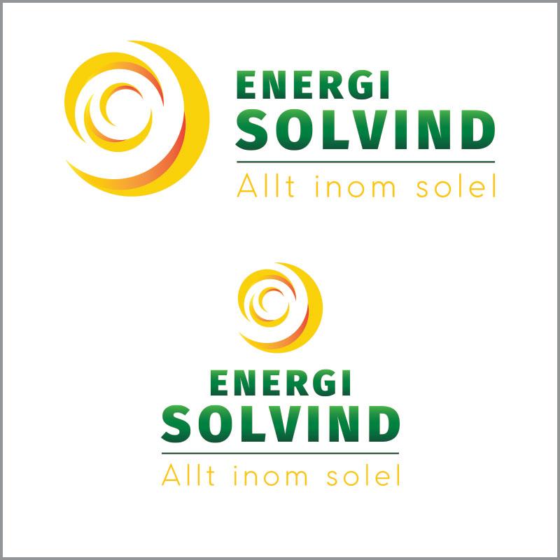 Energi Solvind Logotype
