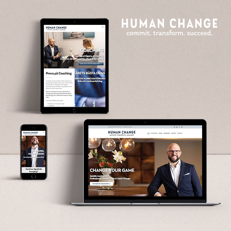Human Change Website