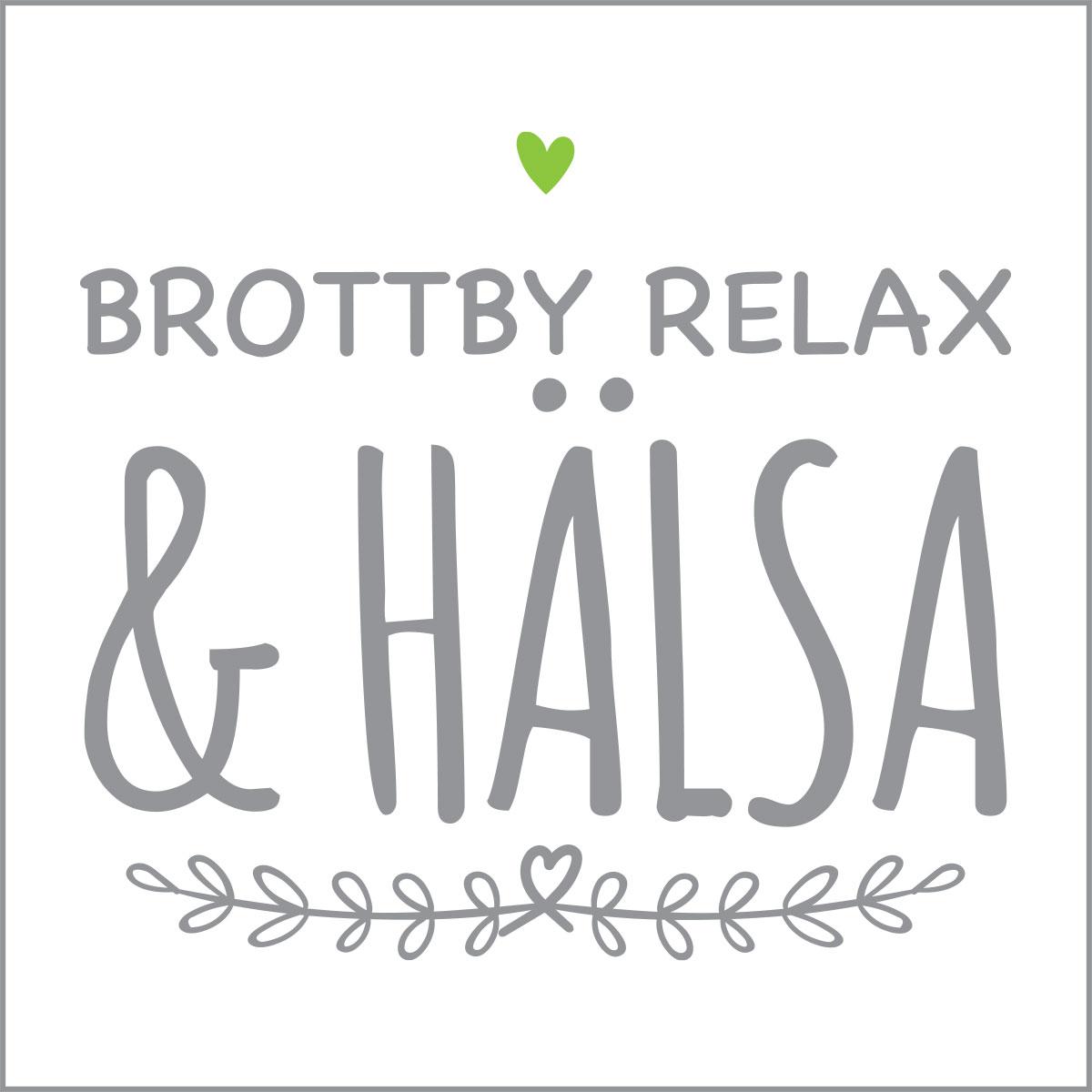 Brottby Relax & Hälsa logo
